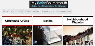 safer bournemouth logo