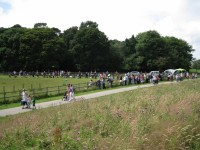 Lots of entries in the PDSA fun dog show