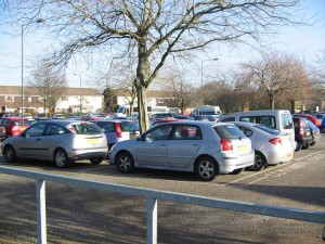 slades farm car park