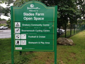 slades farm open space